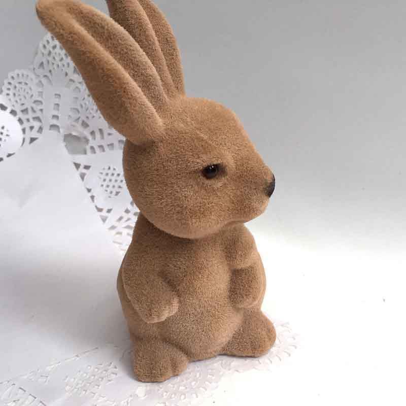 Кролик коричневый 18см - Изображение 2