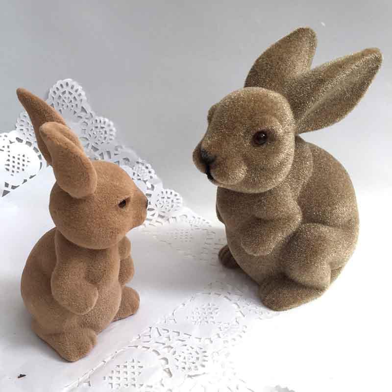 Кролик коричневый 18см - Изображение 3