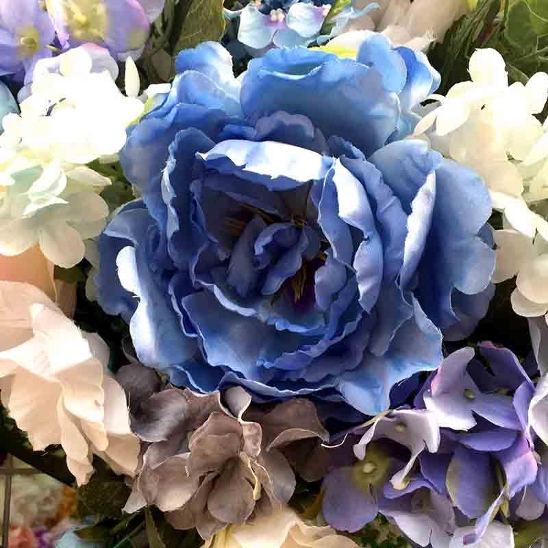 Головка пиона пышная синяя светлая - Изображение 2