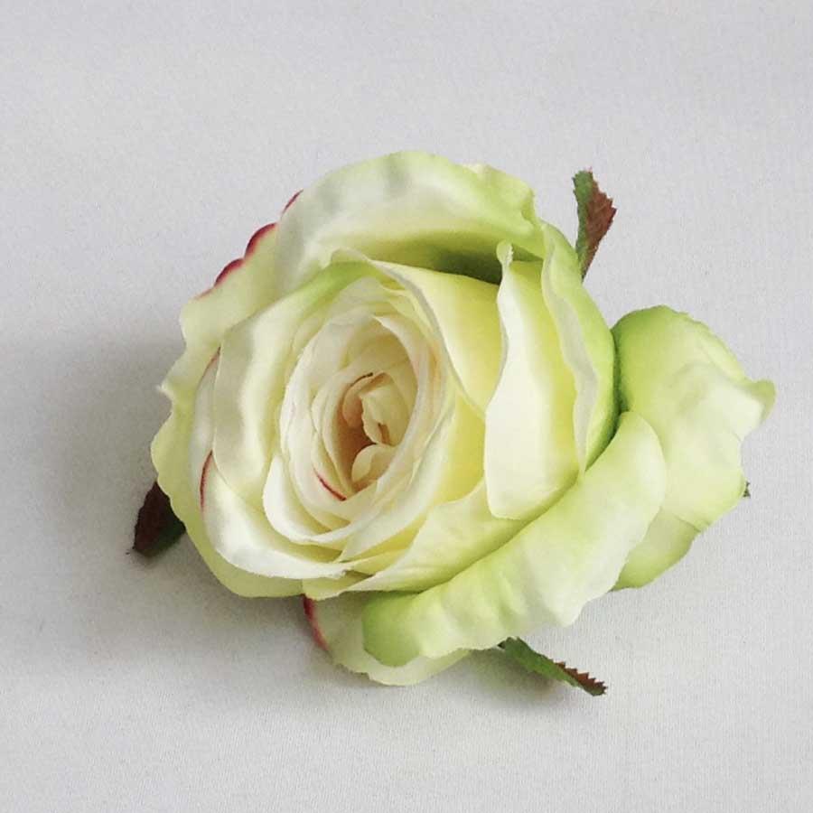 Головка розы КАРДИНАЛ салатово-кремовая - Изображение 2