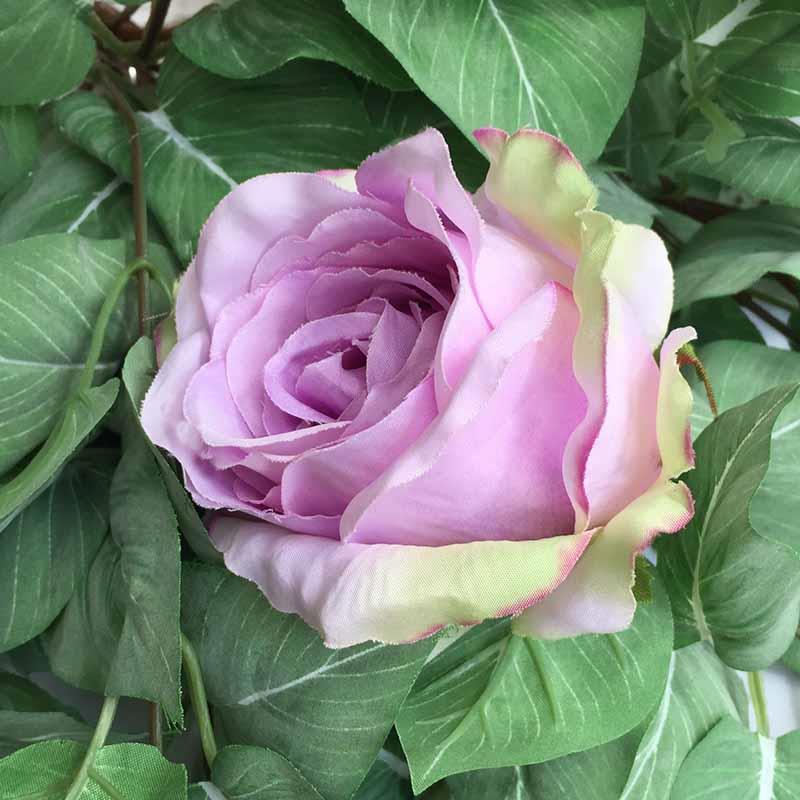Головка розы КАРДИНАЛ сиреневая светлая - 6шт
