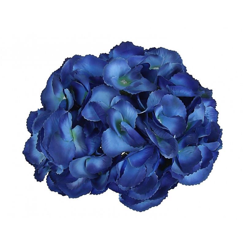 Головка гортензии крупноцветная синяя 23см - Изображение 3